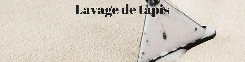 Lavage de tapis